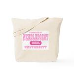 Needlepoint University Tote Bag