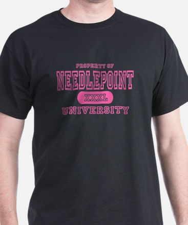 Needlepoint University T-Shirt