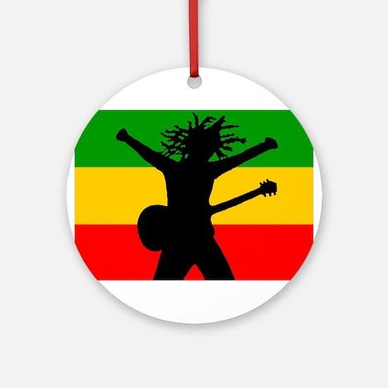 Bob Flag Ornament (Round)