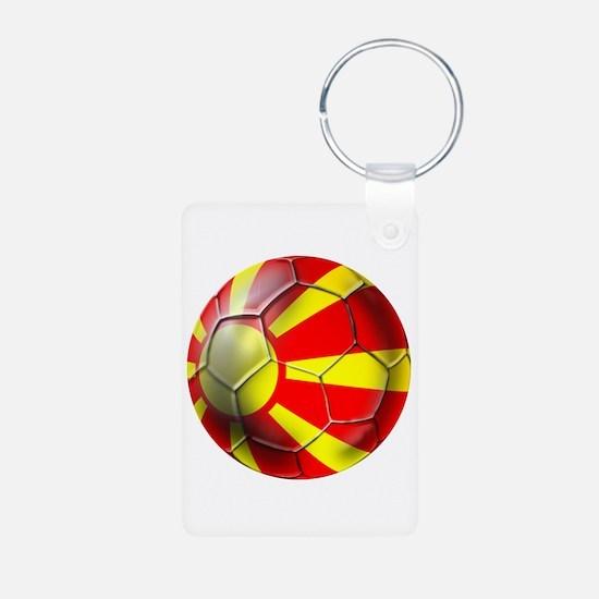 Macedonia Football Keychains