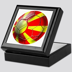Macedonia Football Keepsake Box