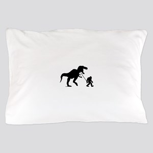 Gone Squatchin with T-rex Pillow Case