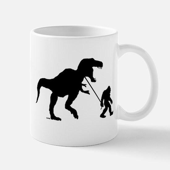 Gone Squatchin with T-rex Mug