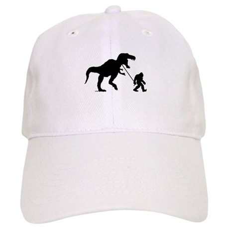 Gone Squatchin with T-rex Baseball Cap