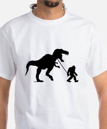 Gone Squatchin with T-rex T-Shirt
