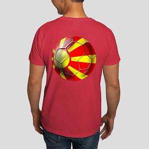 Macedonia Football Dark T-Shirt