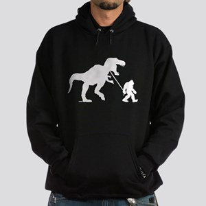 Gone Squatchin with T-rex Hoodie