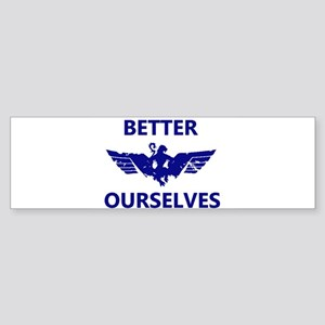 Better Ourselves Bumper Sticker