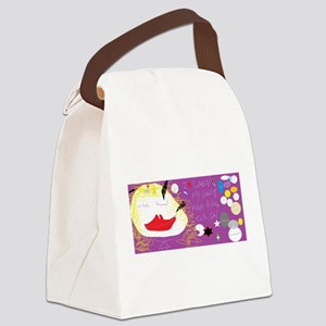 I Love When My Pain Pills Kick In Canvas Lunch Bag
