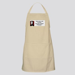 Thoreau. No one are so old... BBQ Apron