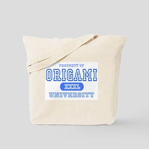 Origami University Tote Bag