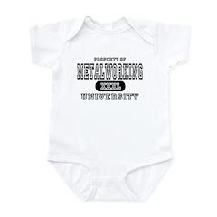 Metalworking University Infant Bodysuit