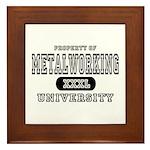 Metalworking University Framed Tile