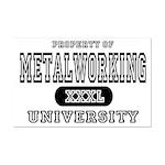Metalworking University Mini Poster Print