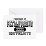 Metalworking University Greeting Cards (Package of