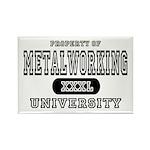 Metalworking University Rectangle Magnet