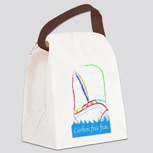 Carbon Free Fun Canvas Lunch Bag