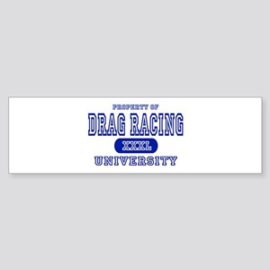 Drag Racing University Bumper Sticker