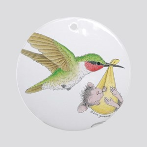 A Birdie Told Me Ornament (Round)