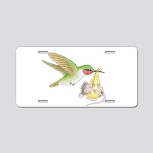 A Birdie Told Me Aluminum License Plate