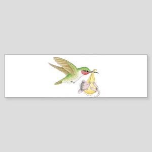 A Birdie Told Me Bumper Sticker