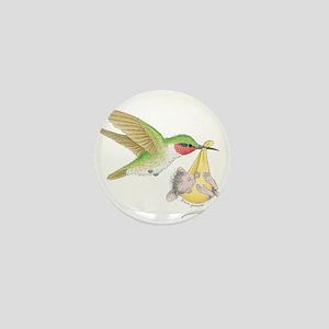 A Birdie Told Me Mini Button