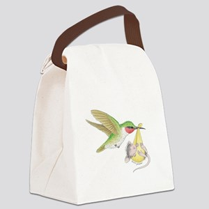 A Birdie Told Me Canvas Lunch Bag