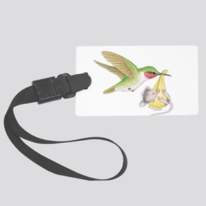 A Birdie Told Me Luggage Tag