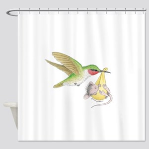A Birdie Told Me Shower Curtain