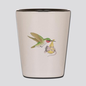A Birdie Told Me Shot Glass