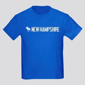 New Hampshire Moose Kids Dark T-Shirt
