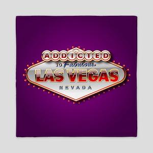 Vegas Addicted Queen Duvet