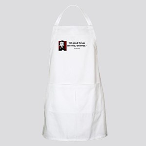 Thoreau. All good things... BBQ Apron