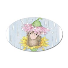Rainy Daisy Day Wall Decal