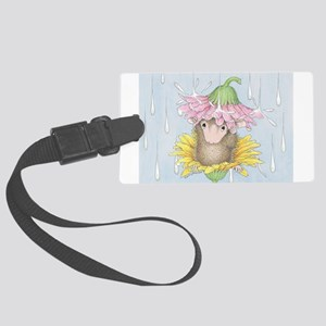 Rainy Daisy Day Luggage Tag