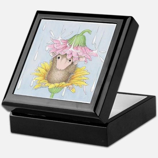 Rainy Daisy Day Keepsake Box