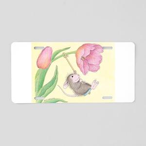 Tulip Tree-Swing Aluminum License Plate