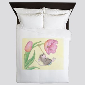 Tulip Tree-Swing Queen Duvet