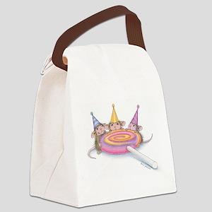 Lollipop Heaven Canvas Lunch Bag
