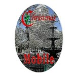 Mobile AlabamaOval Ornament