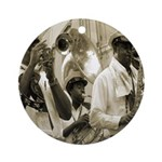 New Orleans Brass Band Ornament (Round)