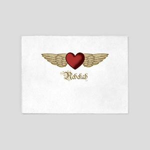 Rebekah the Angel 5'x7'Area Rug