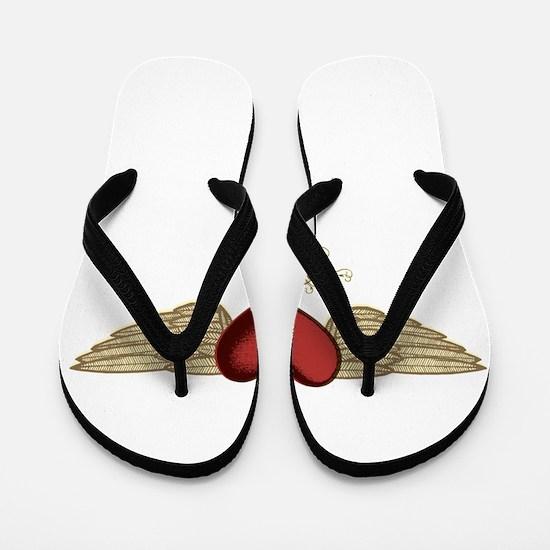 Regina the Angel Flip Flops