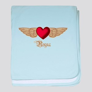 Reyna the Angel baby blanket