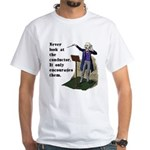 Conductor White T-Shirt