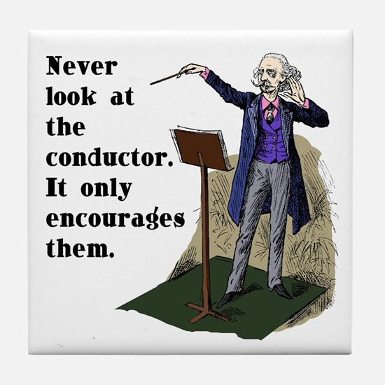 Conductor Tile Coaster