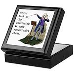Conductor Keepsake Box