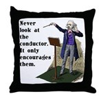 Conductor Throw Pillow