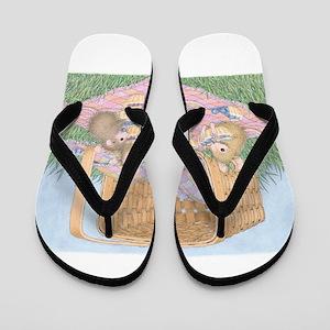 Micey Nice Picnic Flip Flops