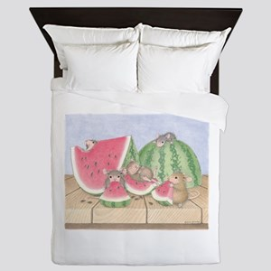 Full of Melon Queen Duvet